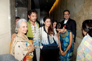 Waheeda Rehman, Irrfan Khan, Tisca Chopra, Tillotama Shome, Anup Singh