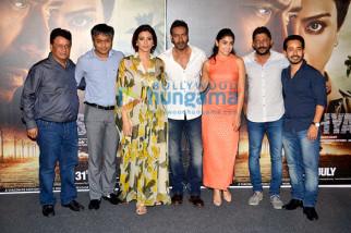Kumar Mangat Pathak, Ajit Andhare, Tabu, Ajay Devgn, Shriya Saran, Nishikant Kamat,Abhishek Pathak