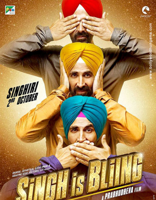 Singh Is Bliing Cover