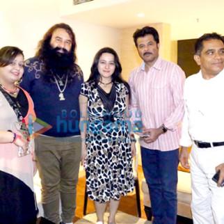Gurmeet Ram Rahim Singh Ji Insan, Honeypreet Insan, Anil Kapoor, Firoz Nadiadwala