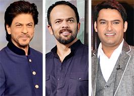 SRK, Rohit Shetty to watch Kapil Sharma's Kis Kisko Pyaar Karoon tonight in Hyderabad