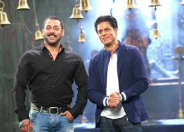 Shah Rukh Khan -Salman Khan whoop it up as Karan-Arjun