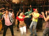 Movie Still From The Film Chaalis Chauraasi,Ravi Kissen,Shweta Bhardwa,Atul Kulkarni,Kay Kay Menon