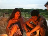 Movie Still From The Film Shudra The Rising,Kirran Sharad,Pravin Baby