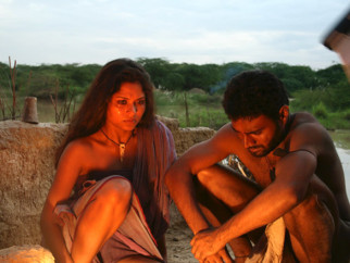 Movie Still From The Film Shudra The Rising,Kirran Sharad,Pravin Baby