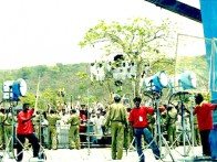 On The Sets Of The Film Billu Featuring