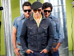 Movie Still From The Film Heyy Babyy,Fardeen Khan,Akshay Kumar,Riteish Deshmukh