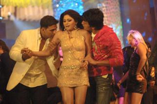Movie Still From The Film Heyy Babyy,Akshay Kumar,Riteish Deshmukh