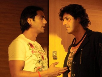 Movie Still From The Film I See You,Arjun Rampal,Chunky Pandey