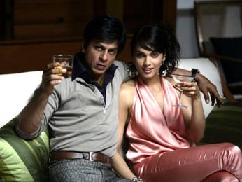 Movie Still From The Film Don - The Chase Begins Again,Shahrukh Khan,Eesha Koppikhar