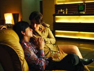 Movie Still From The Film Don - The Chase Begins Again,Shahrukh Khan,Kareena Kapoor