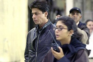 On The Sets Of The Film Swades Featuring Shahrukh Khan
