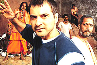 Movie Still From The Film Shakti - The Power Featuring Sanjay Kapoor,Nana Patekar