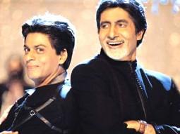 Movie Still From The Film Kabhi Khushi Kabhie Gham,Shahrukh Khan,Amitabh Bachchan