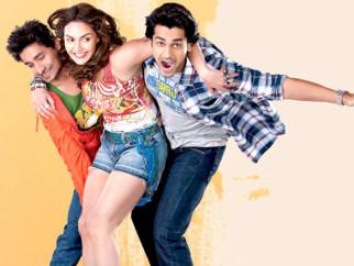 On The Sets Of The Film Tell Me O Kkhuda Featuring Arjan Bajwa,Chandan Roy Sanyal,Esha Deol
