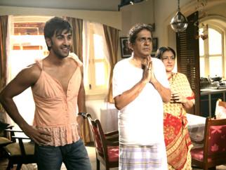 Movie Still From The Film Ajab Prem Ki Ghazab Kahani,Ranbir Kapoor,Darshan Jariwala