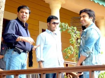 On The Sets Of The Film Banda Yeh Bindaas Hai Featuring Ashish Chowdhry