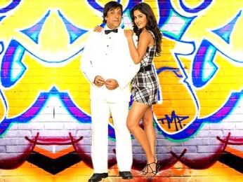 Movie Still From The Film Partner Featuring Govinda,Katrina Kaif