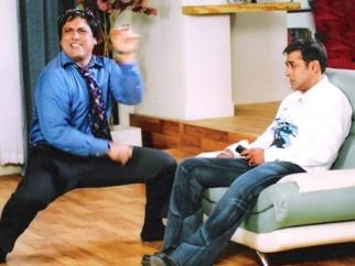 Movie Still From The Film Partner Featuring Govinda,Salman Khan