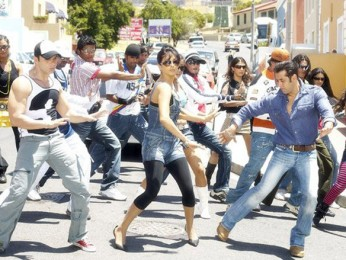 Movie Still From The Film God Tussi Great Ho,Sohail Khan,Priyanka Chopra,Salman Khan