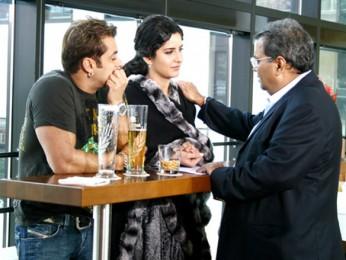 On The Sets Of The Film Yuvvraaj Featuring Salman Khan,Katrina Kaif