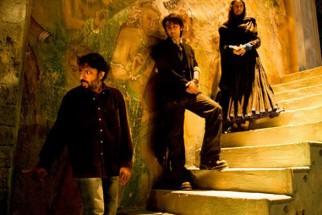 On The Sets Of The Film Saawariya Featuring Sanjay Leela Bhansali,Ranbir Kapoor,Sonam Kapoor