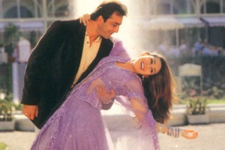 Movie Still From The Film Chal Mere Bhai Featuring Sanjay Dutt,Karisma Kapoor