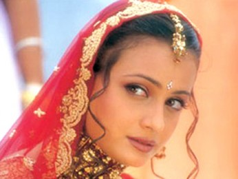 Movie Still From The Film Tumko Na Bhool Paayenge Featuring Dia Mirza