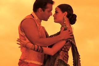 Movie Still From The Film Tumko Na Bhool Paayenge Featuring Salman Khan,Dia Mirza