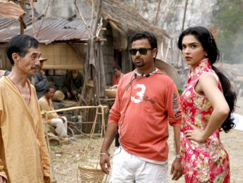 On The Sets Of The Film Chandni Chowk To China Featuring Deepika Padukone