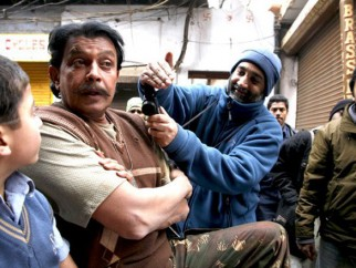 On The Sets Of The Film Chandni Chowk To China Featuring Mithun Chakraborty