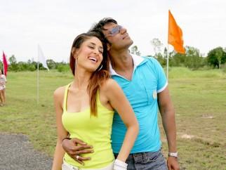 Movie Still From The Film Golmaal Returns,Kareena Kapoor,Ajay Devgn