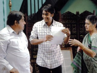Movie Still From The Film Halla Bol,Anjan Srivastava,Ajay Devgn