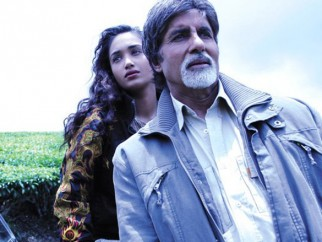Movie Still From The Film Nishabd Featuring Amitabh Bachchan,Jiah Khan