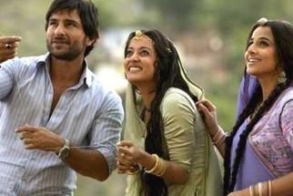 Movie Still From The Film Eklavya - The Royal Guard,Saif Ali Khan,Vidya Balan,Raima Sen