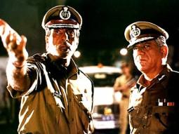 Movie Still From The Film Dev Featuring Amitabh Bachchan,Om Puri