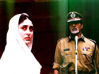 Movie Still From The Film Dev Featuring Kareena Kapoor,Amitabh Bachchan