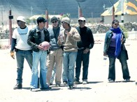 On The Sets Of The Film Lakshya Featuring Hrithik Roshan