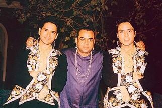 On The Sets Of The Film Fun2ssh Featuring Anuj Sawhney,Paresh Rawal,Iqbal Khan