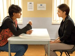 Movie Still From The Film Provoked Featuring Nandita Das,Aishwarya Rai