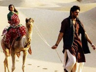 Movie Still From The Film Mumbai Se Aaya Mera Dost Featuring Abhishek Bachchan,Lara Dutta