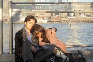Movie Still From The Film London, Paris, New York,Ali Zafar,Aditi Rao Hydari