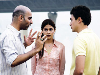 On The Sets Of The Film Jaane Tu Ya Jaane Na Featuring Genelia Dsouza,Imran Khan