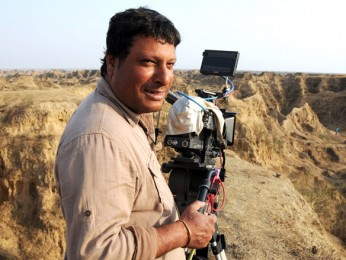 On The Sets Of The Film Paan Singh Tomar Featuring Irrfan Khan,Mahie Gill,Nawazuddin Siddiqui,Imran Hasnee,Vipin Sharma