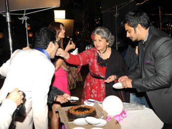 On The Sets Of The Film Jodi Breakers Featuring R Madhavan,Bipasha Basu,Omi Vaidya,Dipannita Sharma,Mrinalini Sharma,Milind Soman,Helen