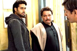 Movie Still From The Film Delhi-6,Abhishek Bachchan,Rishi Kapoor,Vijay Raaz