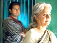 Movie Still From The Film Delhi-6,Abhishek Bachchan,Waheeda Rehman