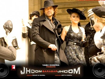 Movie Still From The Film Jhoom Barabar Jhoom,Bobby Deol,Preity Zinta