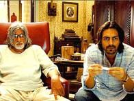 Movie Still From The Film The Last Lear Featuring Amitabh Bachchan,Arjun Rampal
