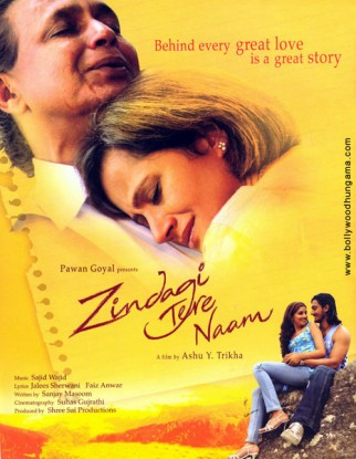 First Look Of The Movie Zindagi Tere Naam